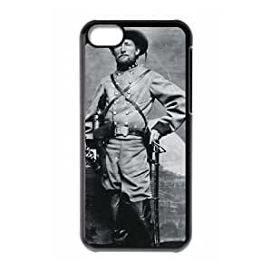 iPhone 5c Cell Phone Case Black Rebel Col John S Mosby The Grey Ghost TR2395895