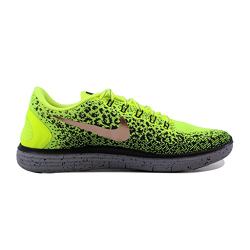 Nike Free RN Distance Shield Yellow - Sneakers Uomo Giallo