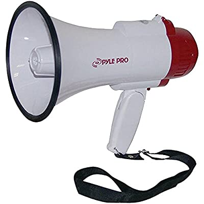 PYLE PRO PMP35R Professional Megaphone/Bullhorn with Siren & Voice Recorder