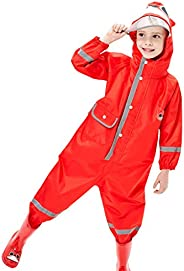 WYTbaby Raincoat for Kids and Trousers Waterproof Children Rainsuit