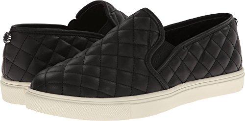Steve Madden Women's Ecentrcq Sneaker, Black, 9.5 Wide