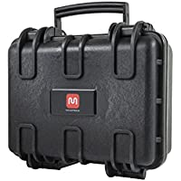 Monoprice Weatherproof Hard Case with Customizable Foam, 12 x 10 x 6