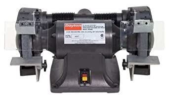 Bench Grinder 8 In 3 4 Hp 115 V 7 A Space Heaters