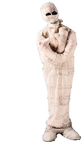 Mummy Cat Prop (Halloween haunted house room decoration decoration props bar tricky Egyptian mummy skull horror)