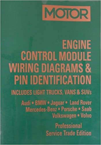 engine control module wiring diagrams & pin identification: includes light  trucks, vans & suvs (1994-2003 european passenger cars, light trucks,