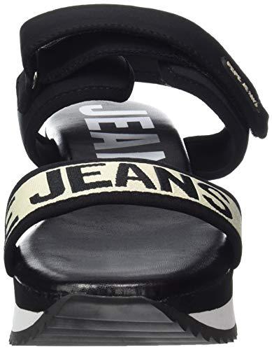 Sandalias Fuji Con Jeans Para Plataforma Mujer 999 999black Schwarz Pepe Mania f4qtwOS