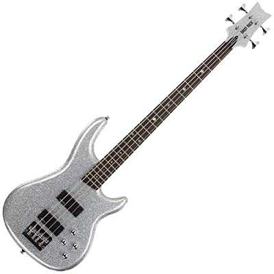 Daisy Rock - Rock Candy Bass Guitar, Diamond Sparkle