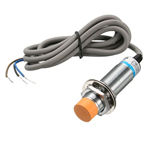 (uxcell 8mm Approach Inductive Proximity Sensor Switch Detector PNP NO DC 6-36V 300mA 3-Wire LJ18A3-8-Z/BY)