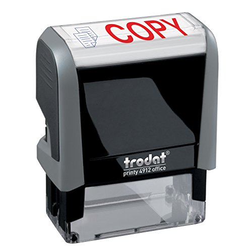 - Copy Trodat Printy 4912 Self-Inking Two Color Stock Message Stamp