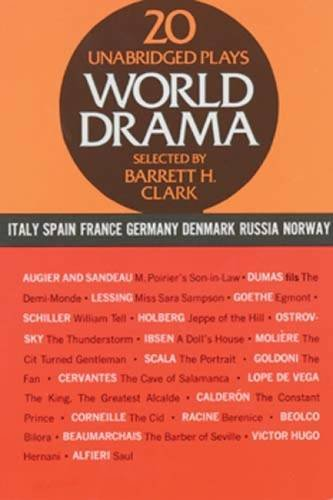 002: World Drama: An Anthology, Vol. 2: Italy, Spain, France, Germany, Denmark, Russia, and Norway