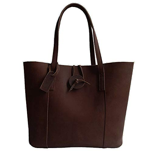 Super Quality New Vintage Cowhide Baseball Glove Leather Tote Purse Shoulder Bag With Removable Pouch for Lady's - Leather Lace Tote