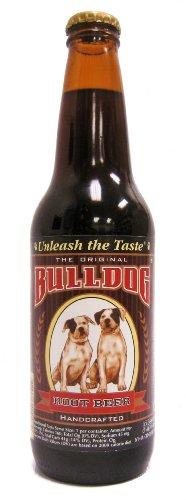Bull Dog Root Beer Soda, 12 Ounce (12 Bottles)