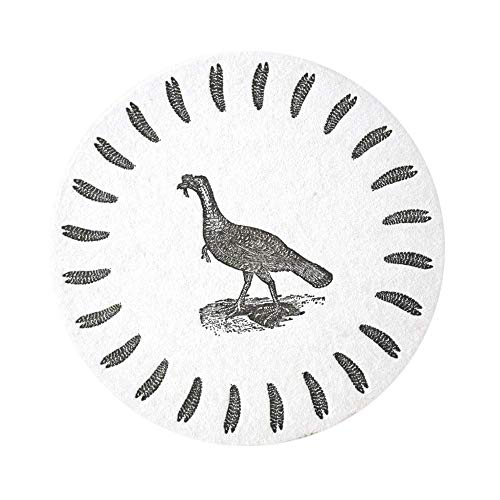 Thanksgiving Gifts Hostess Gifts Turkey Drink Coasters Table