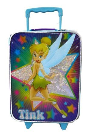 Disney TinkerBell Suitcase - Travel Pilot Case - Tinker Bell Travel Luggage