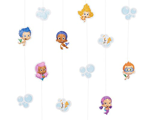Bubble Guppies Hanging Party Decorations, Party Supplies -
