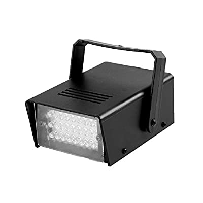 GBGS Mini Strobe Light 24 High-Power LED Stage Lighting. Ideal for Clubs, DJs, Discos, Bars, and House Parties