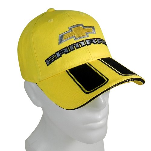 Chevrolet Camaro SS Rally Stripe Yellow Baseball Cap
