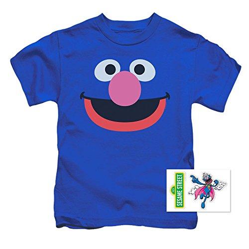 Toddler Sesame Street Grover Face T Shirt (2T)