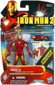 Disney Iron Man Mark VI Iron Man 2 Action Figure -- 4