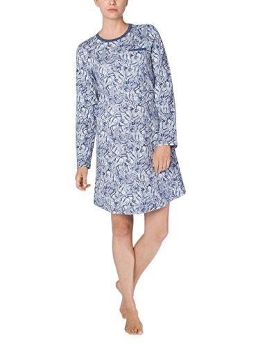 Blue da Calida Notte 426 Camicia Naomi Blu Donna Shade Melé wPxRFHY6q