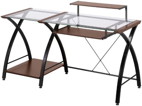 Z-Line Designs ZL4053-3DBU Z-Line Brisa Desk, Brown