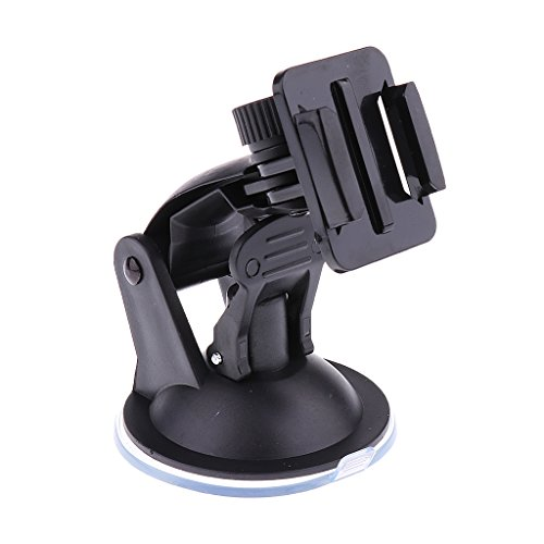 Dolity Car Windshield Suction Cup Tripod Mount Quick Release For GoPro 4/3+ Camera