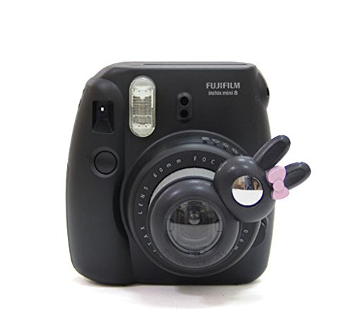 [Fujifilm Instax Mini 7s 8 8+ 9 Selfie Lens] -- CAIUL Rabbit Style Instax Close Up Lens with Self-portrait Mirror For Fujifilm Instax Mini 8 8+ 9 7s Camera and - Kitty Hello Lens