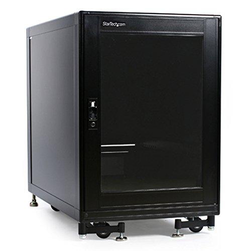 StarTech.com 15U Rack Enclosure Server Cabinet - 27.6 in. Deep - Built-in Fans (2636CABINET)