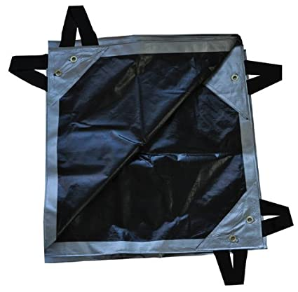 25 x 48 Dry Top Super Heavy Duty Silver//Black 12-mil Hay Tarp item #625486