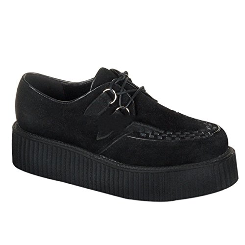 Demonia Creeper-402S - gothique punk Creeper chaussures unisex daim 36-46