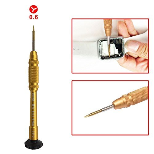 0.6mm Y Tip Y000 Tri-point Triwing Y Shape Magnetic Tri Screwdriver Disassembling Tool for Apple iPhone 7 iPhone 7 Plus iPhone 8 iPhone 8 Plus iPhone X Apple Watch Screwdriver Rrepair