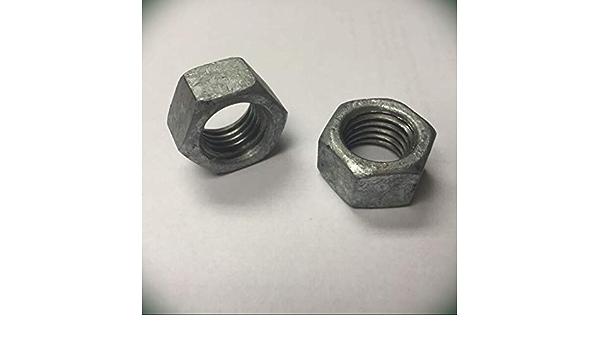 2 Sets Black 10 per Pack OZCO 56621 1-1//2-inch Hex Cap Nut,