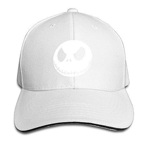 Karoda JACK's Nightmare Sandwich Hunting Peak Hat & Baseball Cap White ()