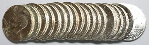 Eisenhower Dollar Roll (1971 S Eisenhower Ike Dollar 20-Coin Roll Brilliant Uncirculated)