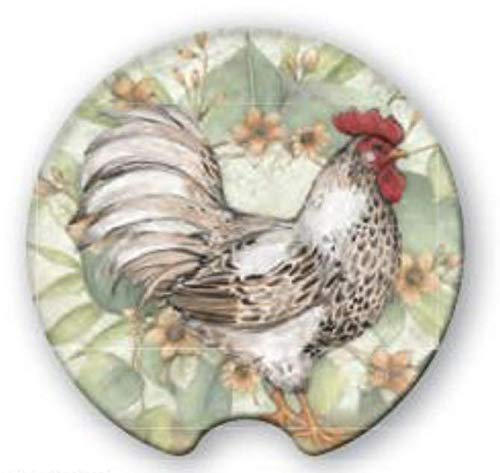 - Coasting & Hosting Great Finds Absorbent Car Coaster Hen Chicken Rooster CHC81