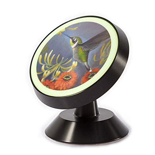 Car Phone Mount Holder Hummingbird and Orange Mum 360¡ã Rotation Magnetic Car Phone Holder Universal with Super Strong Magnet