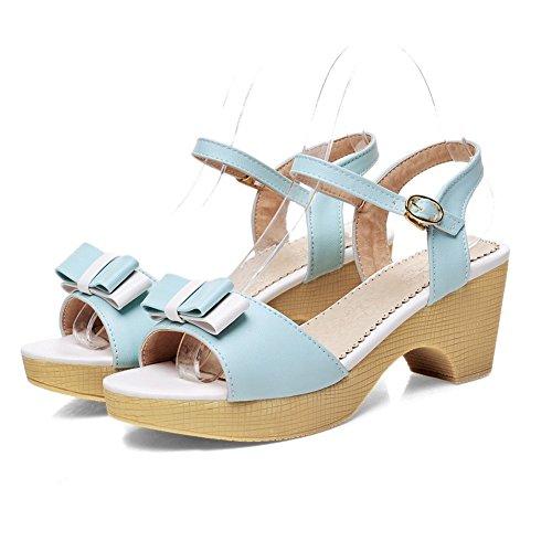 Bleu Plateforme AdeeSu AdeeSu SLC04252 Femme SLC04252 tPPRXqwr4