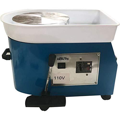 110V 25cm DIY Ceramic Molding Machine Pottery Wheel Ceramic for Ceramic WorkArt by INTBUYING (Image #6)