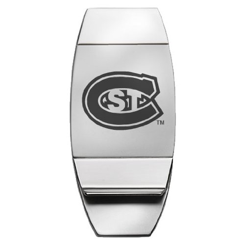 State Money Clip (St. Cloud State University - Two-Toned Money Clip - Silver)