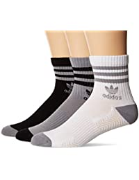 Mens Originals Cushioned Quarter Socks (3-Pack)