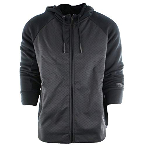 - Nike Men's Air Jordan Retro TWO3 Flight Hybrid Full Zip Fleece Hoodie 853853-010 (X-Large) Black