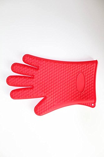 Cooking Washing Dishes /& More! New 2018 FDA Approved Baking Smoking ALCNI Heat Resistant Silicone Oven /& BBQ Gloves For Grilling