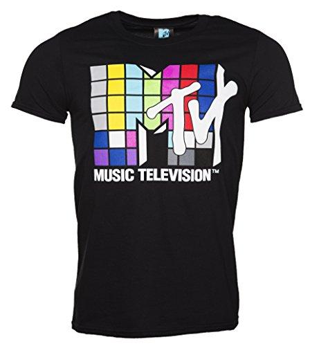 mens-black-mtv-multi-coloured-square-logo-t-shirt