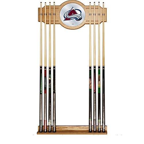 Trademark Gameroom NHL Colorado Avalanche Cue Rack with Mirror by Trademark Gameroom