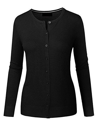 Lightweight Cotton Cardigan Sweater - 4