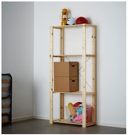 Ikea HEJNE Shelf unit,'softwood