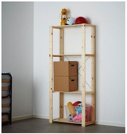 Ikea HEJNE - Estante, madera blanda: Amazon.es: Bricolaje y herramientas