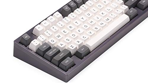 SA Keycap Double Shot Gray Gray&White SA PBT Double Click Keycap Cherry MX  Keycap for Mechanical Keyboard
