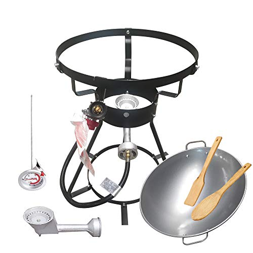 VIGIND Portable Propane Outdoor Cooker, Heavy-Duty 24