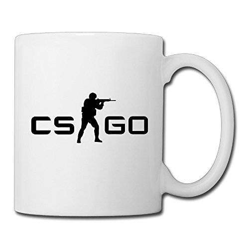 Fl Oz Massage (Christina Counter Strike Global Offensive CS GO Logo Ceramic Coffee Mug Tea Cup White)
